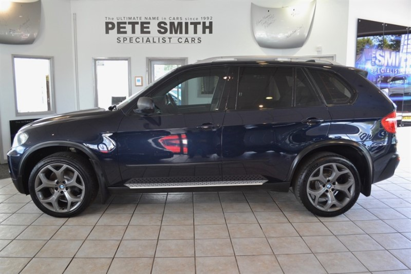 used BMW X5 3.0 D SE AUTO WITH A FULL SERVIC HISTORY UPGRADED SPORT ALLOYS 2007/07 in forest-of-dean-gloucestershire