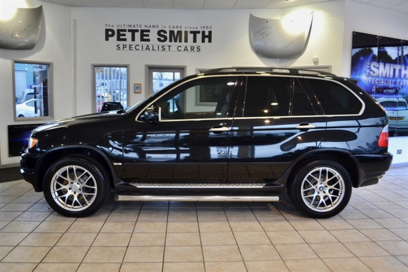 used BMW X5 4.4 V8 SPORT 2003/03 WITH PRIVATE X5 PLATE INCLUDED in forest-of-dean-gloucestershire