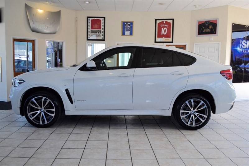 used BMW X6 XDRIVE 30D M SPORT WITH ONLY 14000 MILES RECENTLY SERVICED in forest-of-dean-gloucestershire