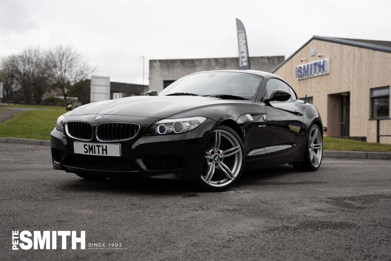 used BMW Z4 2.5 SDRIVE 2.3I M SPORT ROADSTER CONVERTIBLE WITH RED LEATHER 2010/60 in forest-of-dean-gloucestershire