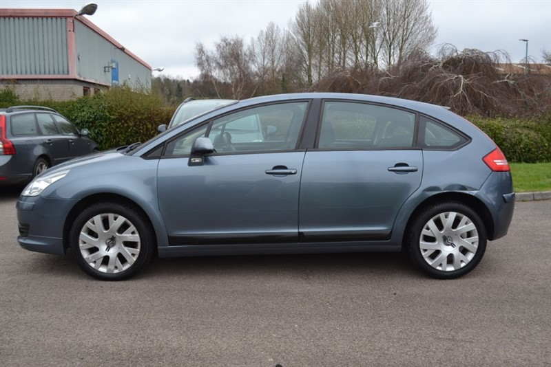 used Citroen C4 1.6 VTR PLUS 16V E4 5 DOOR 2007/07 PART EXCHANGE CAR PRICED TO CLEAR in forest-of-dean-gloucestershire