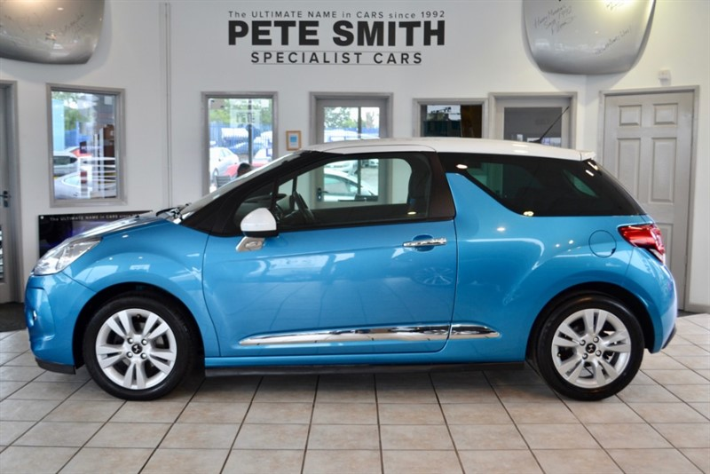 used Citroen DS3 1.6 HDI E  DSTYLE 3 DOOR 2012/62 ZERO ROAD TAX TO PAY in forest-of-dean-gloucestershire