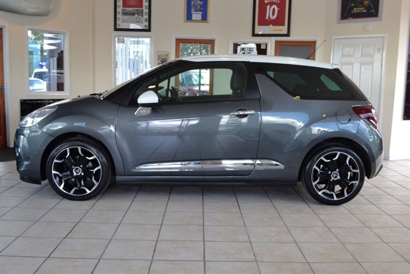used Citroen DS3 1.6 E-HDI D-STYLE PLUS WITH FREE ROAD TAX in forest-of-dean-gloucestershire