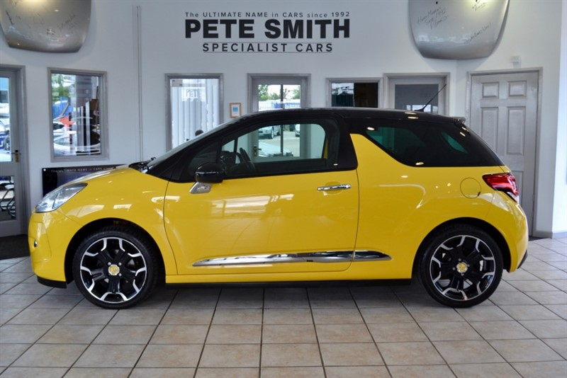 used Citroen DS3 1.6 VTi DSTYLE PLUS FULL SERVICE HISTORY 2012/61 in forest-of-dean-gloucestershire
