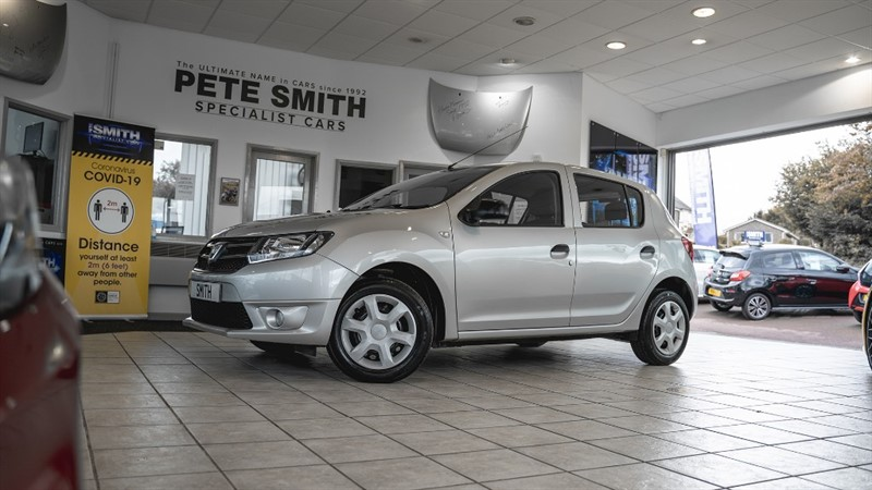 used Dacia Sandero AMBIANCE TCE 5 DOOR ONE OWNER JUST 39000 MILES ONLY £20 ROAD TAX 2015/65 in forest-of-dean-gloucestershire
