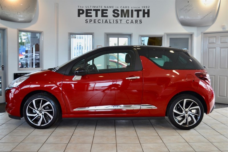 used Citroen DS3 1.2 PURETECH CONNECTED CHIC 3 DOOR HATCHBACK WITH JUST 700 MILES FROM NEW 2018/18 in forest-of-dean-gloucestershire