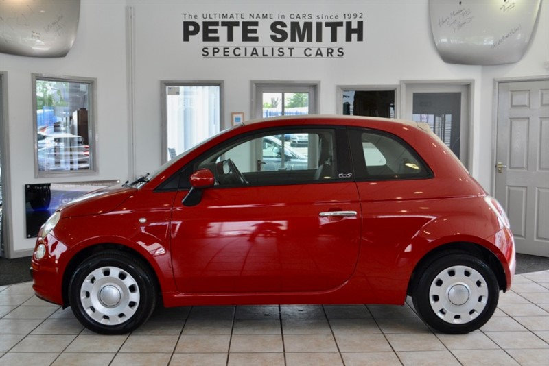 used Fiat 500 1.2 CONVERTIBLE  POP 2009/09ONLY £30 ROAD TAX A GREAT BIT OF SUMMER FUN in forest-of-dean-gloucestershire