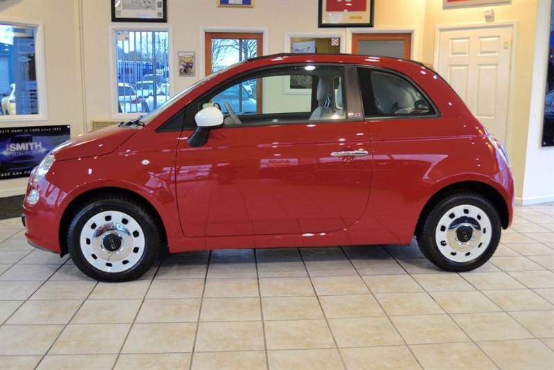 used Fiat 500 1.2 COLOUR THERAPY CONVERTIBLE in forest-of-dean-gloucestershire