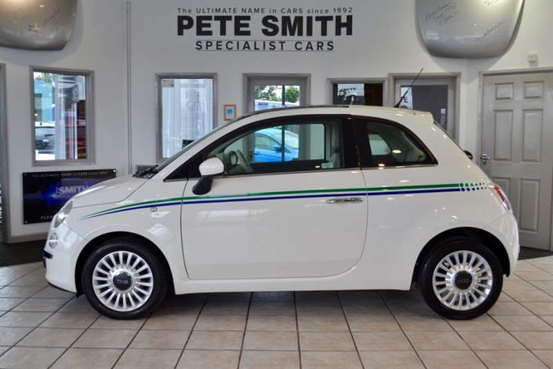 used Fiat 500 1.0 LOUNGE 2012/12 ZERO ROAD TAX in forest-of-dean-gloucestershire
