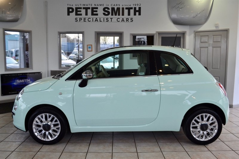 used Fiat 500 1.2 LOUNGE BLUETOOTH AND FULL SERVICE HISTORY 2014/14 in forest-of-dean-gloucestershire