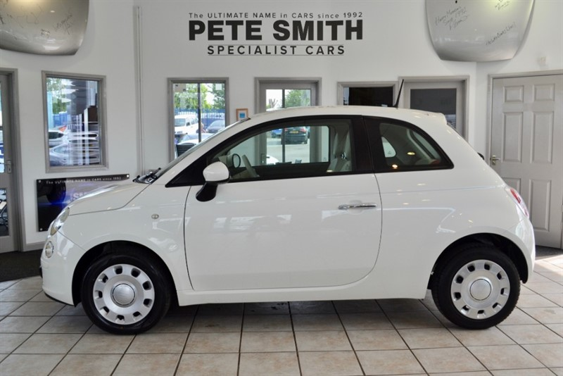used Fiat 500 1.2 POP AUTOMATIC ONLY 21000 MILES 2014/63 in forest-of-dean-gloucestershire