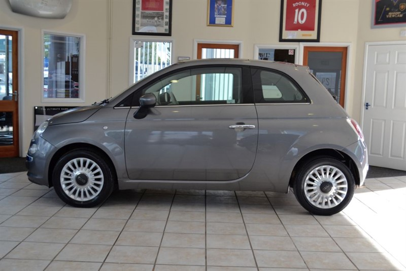 used Fiat 500 1.2 LOUNGE in forest-of-dean-gloucestershire