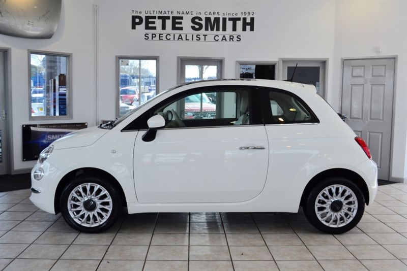 used Fiat 500 1.2 LOUNGE 2015/65 WITH NAVIGATION in forest-of-dean-gloucestershire