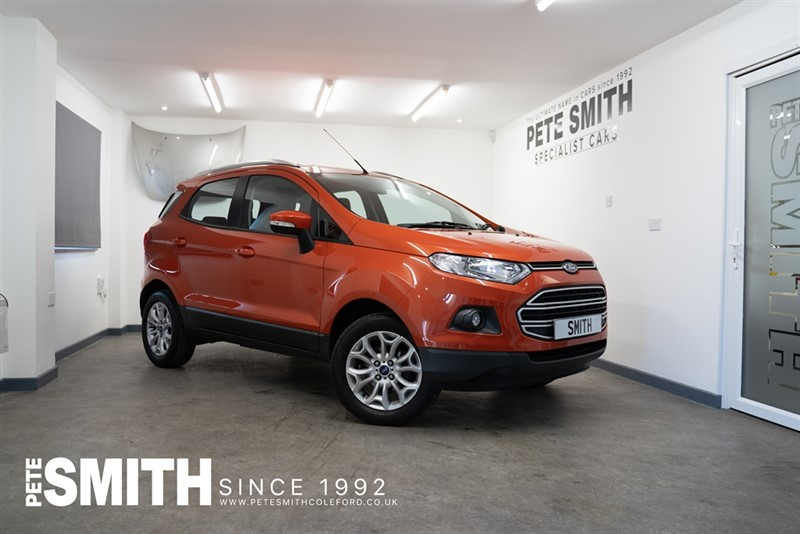 used Ford EcoSport 1.0T ECOBOOST ZETEC 5 DOOR ONLY 24000 WITH THE WINTER PACK  2017/17 in forest-of-dean-gloucestershire