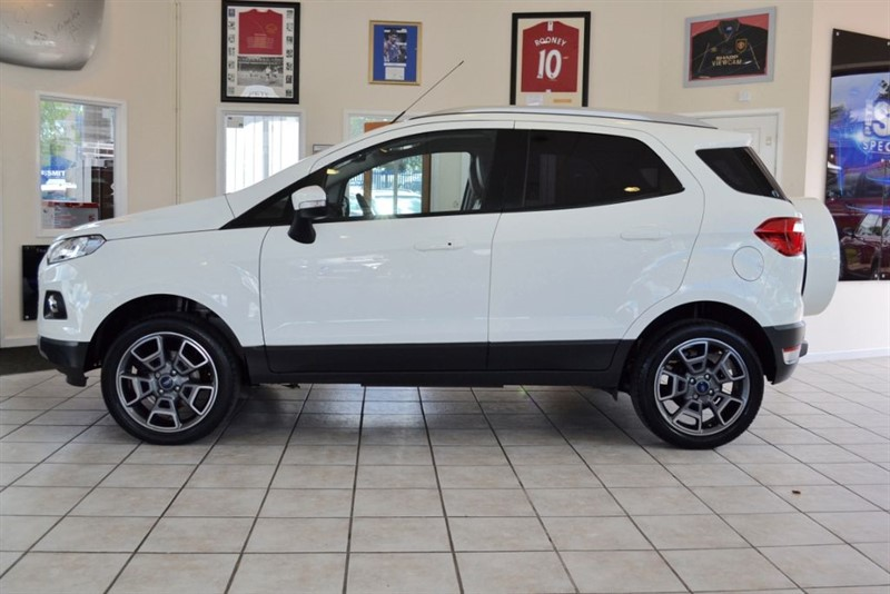 used Ford EcoSport 1.0 TITANIUM X-PACK ONE OWNER ONLY 14000 MILES  in forest-of-dean-gloucestershire