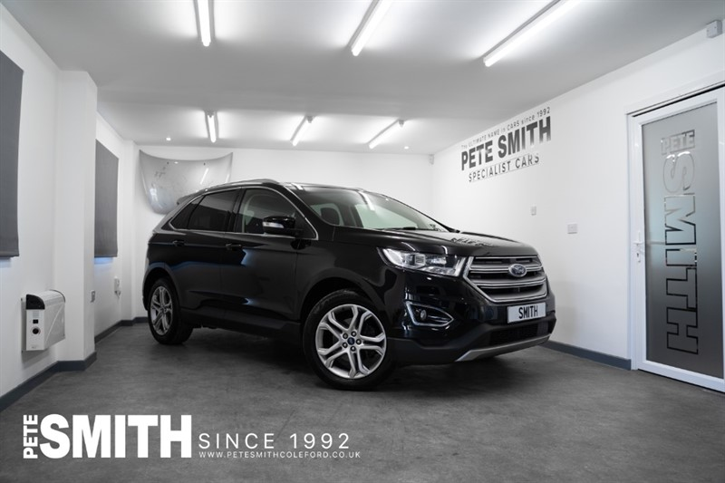 used Ford Edge 2.0 TITANIUM TDCI POWERSHIFT AUTO AWD 5 DOOR JUST ARRIVED 2016/66 in forest-of-dean-gloucestershire