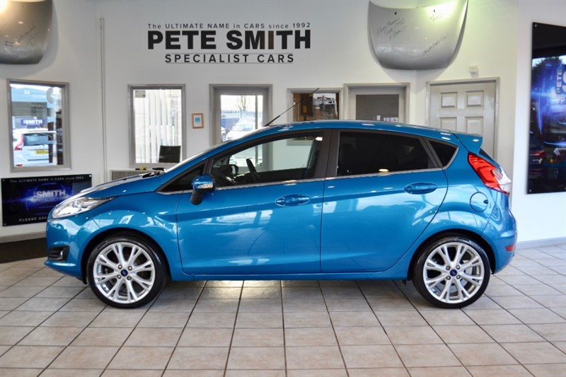 used Ford Fiesta 1.0 ECOBOOST TITANIUM X 5 DOOR 1 OWNER ZERO ROAD TAX 2017/66 in forest-of-dean-gloucestershire