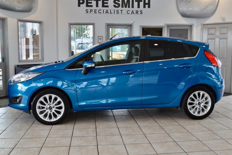 used Ford Fiesta 1.0 ECOBOOST TITANIUM X 5 DOOR HATCHBACK WITH JUST THE ONE OWNER FROM NEW 2014/64 in forest-of-dean-gloucestershire
