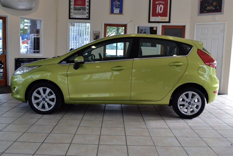 used Ford Fiesta ZETEC 1.4 TDCI WITH ONLY £20 ROAD TAX in forest-of-dean-gloucestershire
