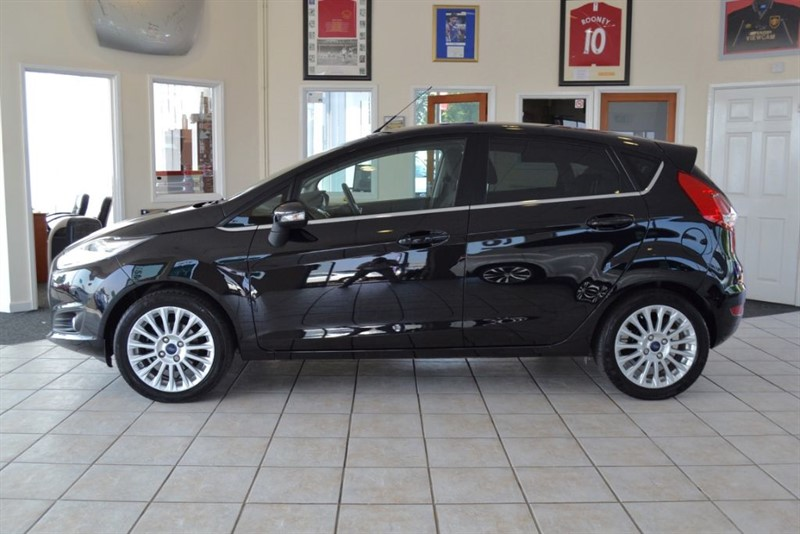 used Ford Fiesta 1.5 TITANIUM TDCI WITH £ZERO ROAD TAX in forest-of-dean-gloucestershire