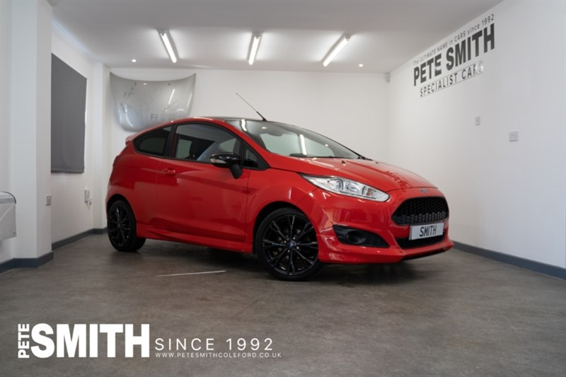 used Ford Fiesta 1.0 ZETEC S RED EDITION ECOBOOST 3 DOOR JUST ARRIVED 2016/65 in forest-of-dean-gloucestershire