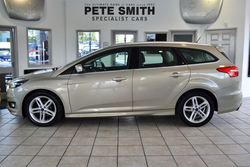 used Ford Focus 1.5 TDCi ZETEC S NAVIGATION ESTATE 2015/65 in forest-of-dean-gloucestershire