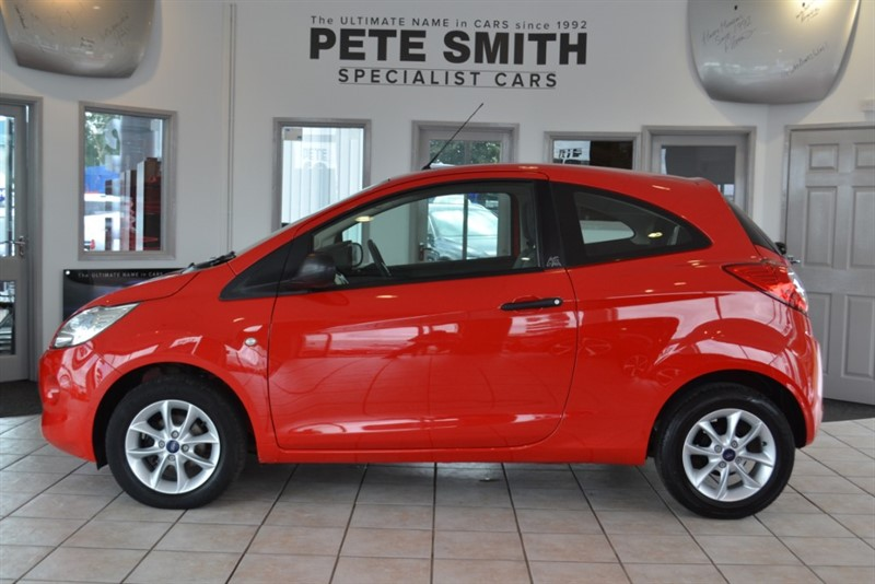 used Ford KA 1.2 STUDIO PLUS 3 DOOR HATCHBACK WITH £30 A YEAR ROAD TAX 2013/63 in forest-of-dean-gloucestershire