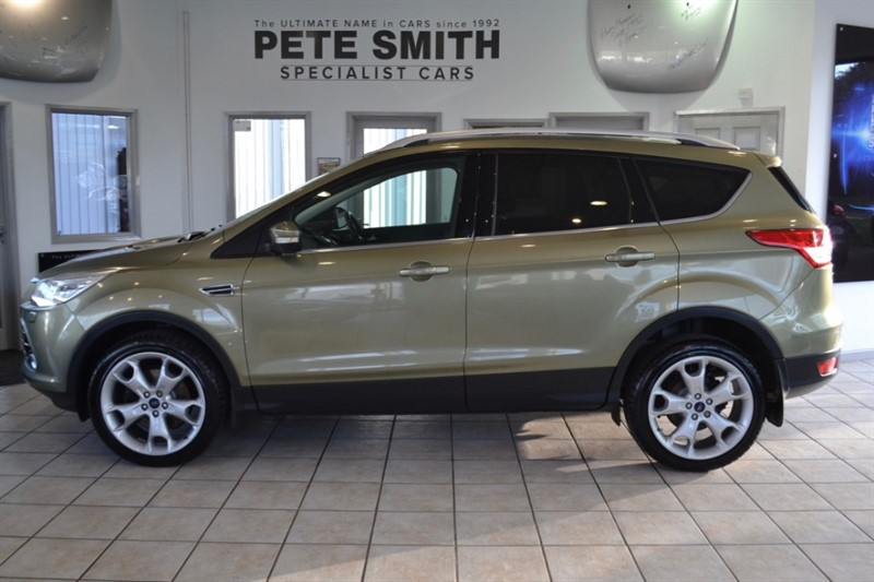 used Ford Kuga 2.0 TITANIUM X TDCI 5 DOOR FORD SERVICE HISTORY FULL LEATHER PANORAMIC ROOF 2013/63 in forest-of-dean-gloucestershire