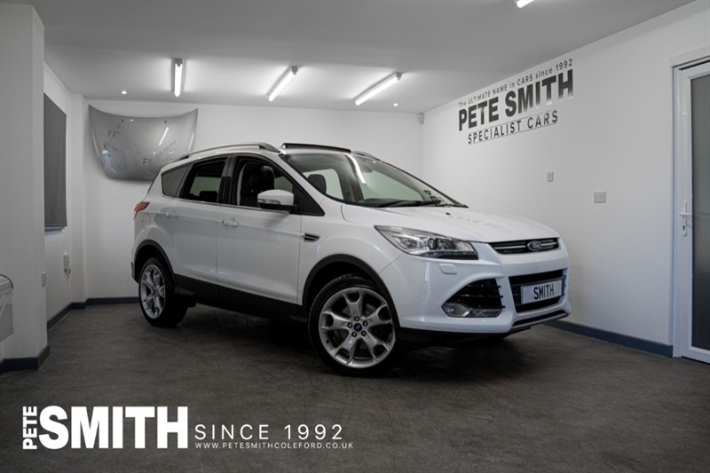 used Ford Kuga 2.0 TITANIUM X TDCI POWERSHIFT AUTO AWD ELECTRIC GLASS SUNROOF SYNC 2 NAVIGATION 2016/66 in forest-of-dean-gloucestershire