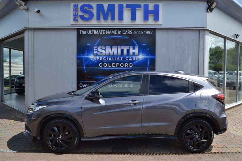 used Honda HR-V 1.5 I-VTEC TURBO SPORT ONE OWNER ONLY 2000 MILES MODERN STEEL METALLIC  GREAT SPEC 2019/19 in forest-of-dean-gloucestershire