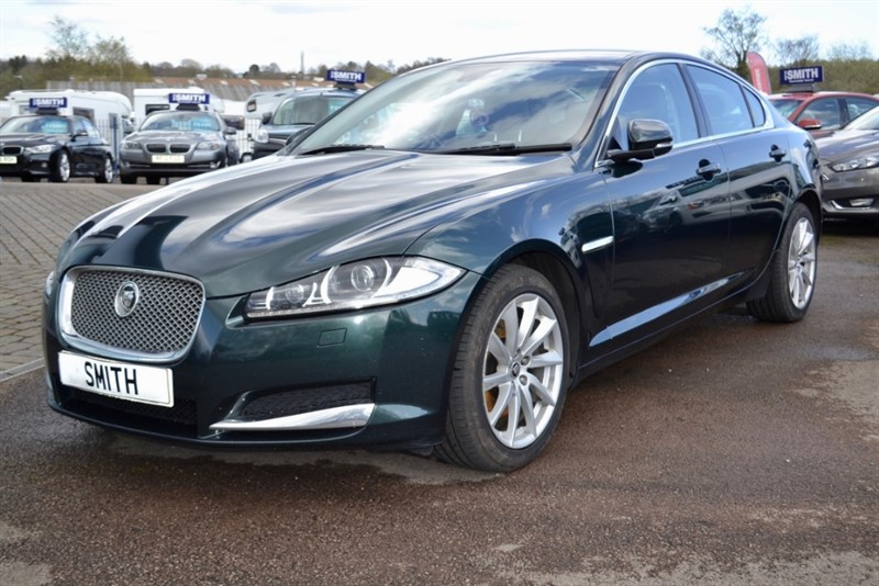 used Jaguar XF 2.2D PREMIUM LUXURY 2012/12 in forest-of-dean-gloucestershire
