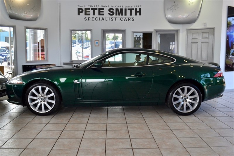 used Jaguar XK 4.2 COUPE AUTO ONLY 56000 MILES WITH FULL SERVICE HISTORY  2006/06 in forest-of-dean-gloucestershire
