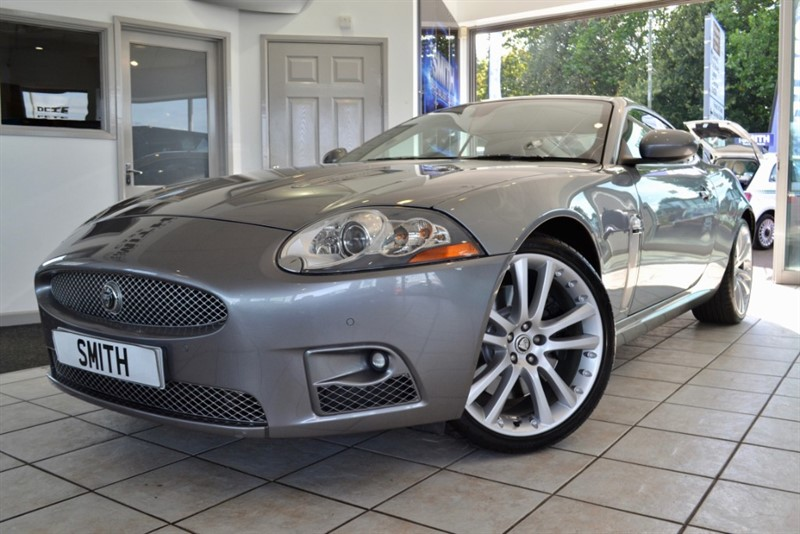 used Jaguar XK 4.2 XKR WITH ONLY 62000 MILES AND JAGUAR SERVICE HISTORY 2007/07 in forest-of-dean-gloucestershire