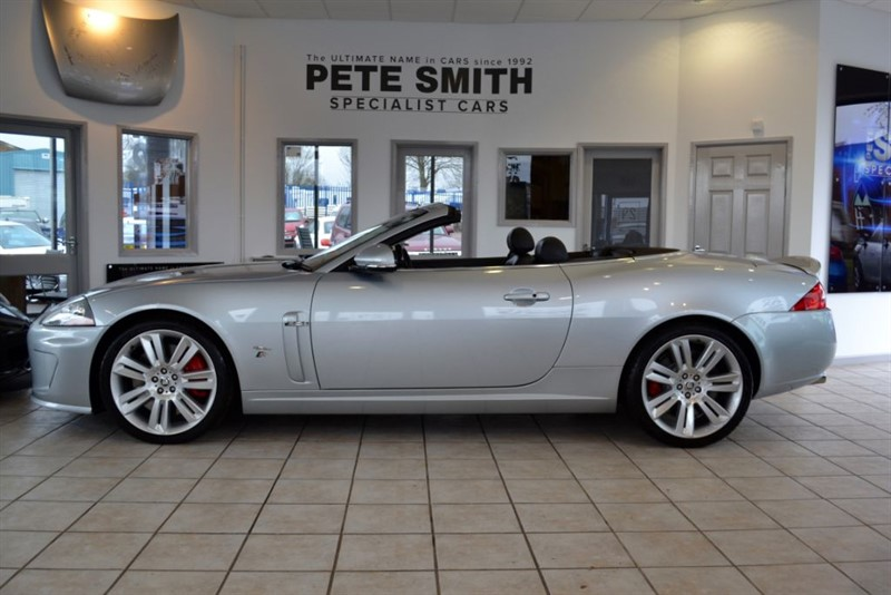used Jaguar XKR 5.0 XKR CONVERTIBLE 2010/10 COMPLETE WITH FULL JAGUAR SERVICE HISTORY in forest-of-dean-gloucestershire