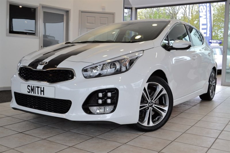 used Kia Ceed 1.6 CRDI GT-LINE ISG  COMPLETE WITH FULL KIA SERVICE HISTORY 2016/16 in forest-of-dean-gloucestershire