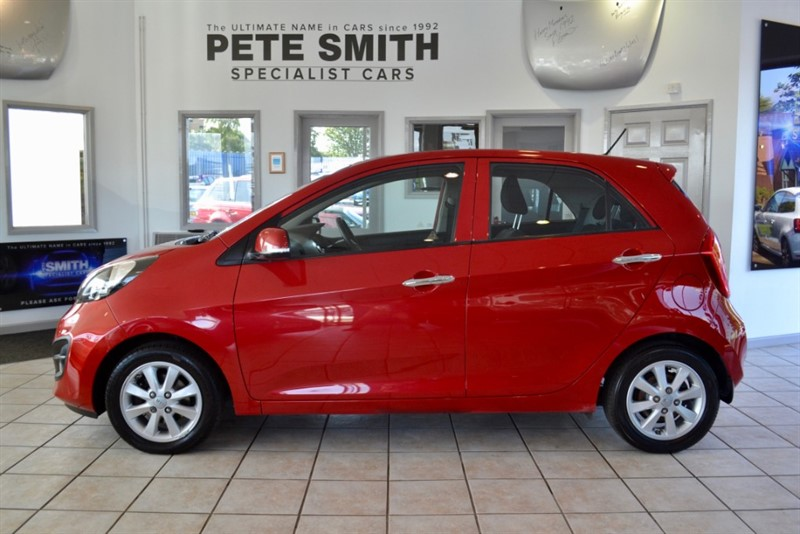 used Kia Picanto 1.2 2 ECODYNAMICS 5 DOOR ZERO ROAD TAX TO PAY 2015/15 in forest-of-dean-gloucestershire