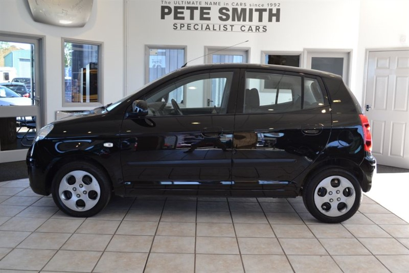 used Kia Picanto 1.1 STRIKE 5 DOOR HATCHBACK 2010/10 in forest-of-dean-gloucestershire