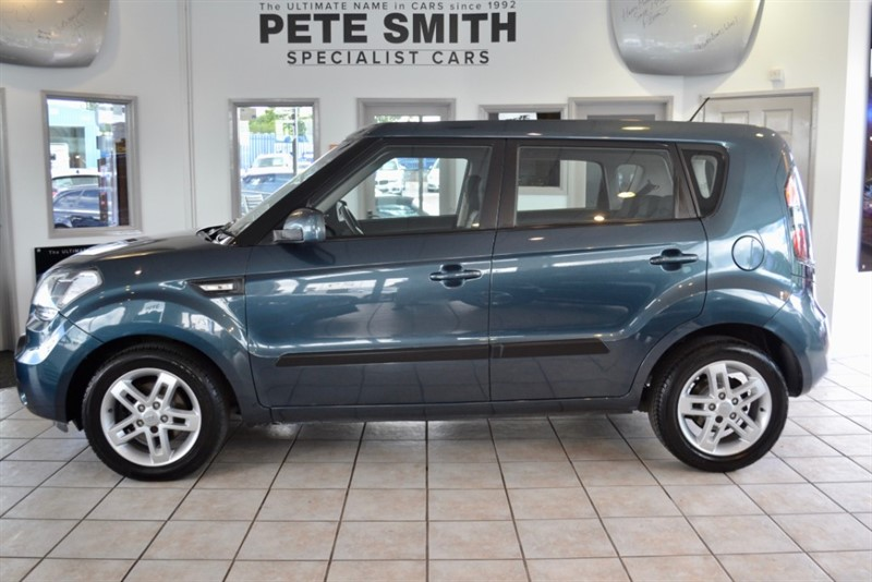 used Kia Soul 1.6 CRDI 2 AUTOMATIC WITH AIR CONDITIONING+  2010/60 in forest-of-dean-gloucestershire