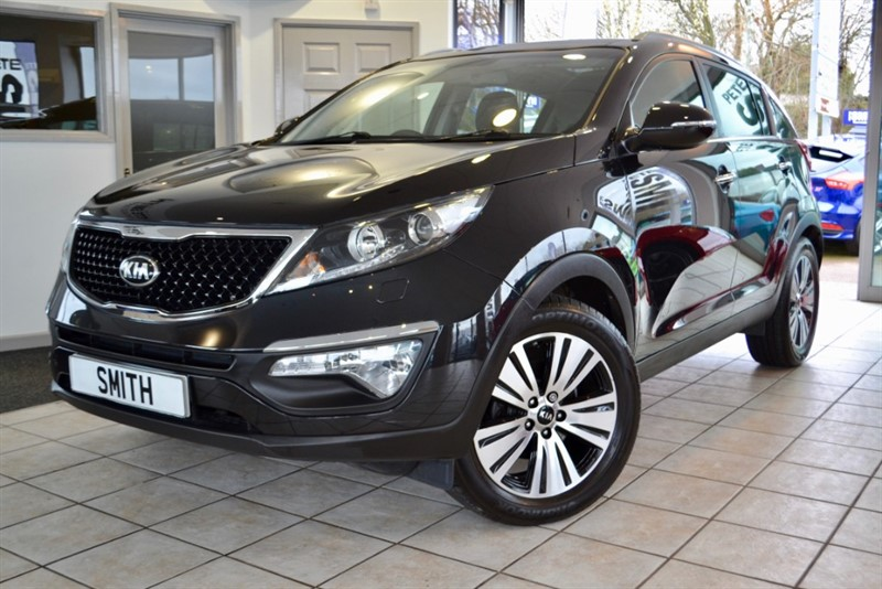 used Kia Sportage 1.7 CRDI 3 ISG KIA SERVICE HISTORY NAVIGATION AND FULL LEATHER 2015/15 in forest-of-dean-gloucestershire