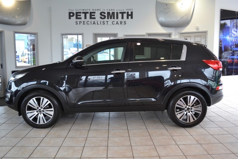 used Kia Sportage 1.7 CRDI 3 ISG FULL KIA SERVICE HISTORY NAVIGATION AND FULL LEATHER 2015/15 in forest-of-dean-gloucestershire