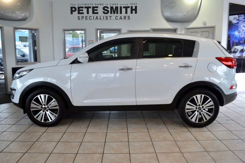 used Kia Sportage 1.7 CRDI 3 ISG PANORAMIC ROOF AND LEATHER SEATS 2015/65 in forest-of-dean-gloucestershire
