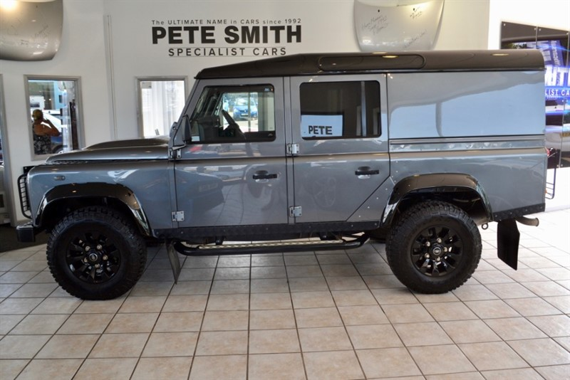 used Land Rover Defender 2.2 TD 110 XS 5 DOOR UTILITY WAGON BLACK PACK FULL LEATHER FULL SERVICE HISTORY 2014/64 in forest-of-dean-gloucestershire