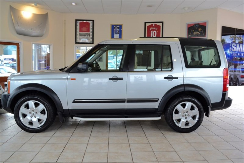 used Land Rover Discovery 3 TDV6 HSE 7 SEATS COMPLETE WITH SERVICE HISTORY in forest-of-dean-gloucestershire