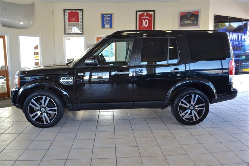 used Land Rover Discovery 3.0 4 SDV6 COMMERCIAL SAME OWNER FROM NEW WITH FULL BLACK LEATHER  in forest-of-dean-gloucestershire