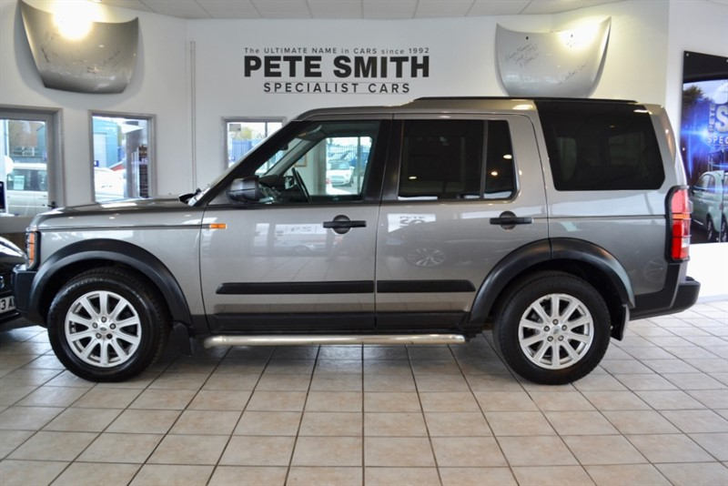used Land Rover Discovery 2.7 TDV6 SE  AUTOMATIC 2008/57 7 SEATS in forest-of-dean-gloucestershire