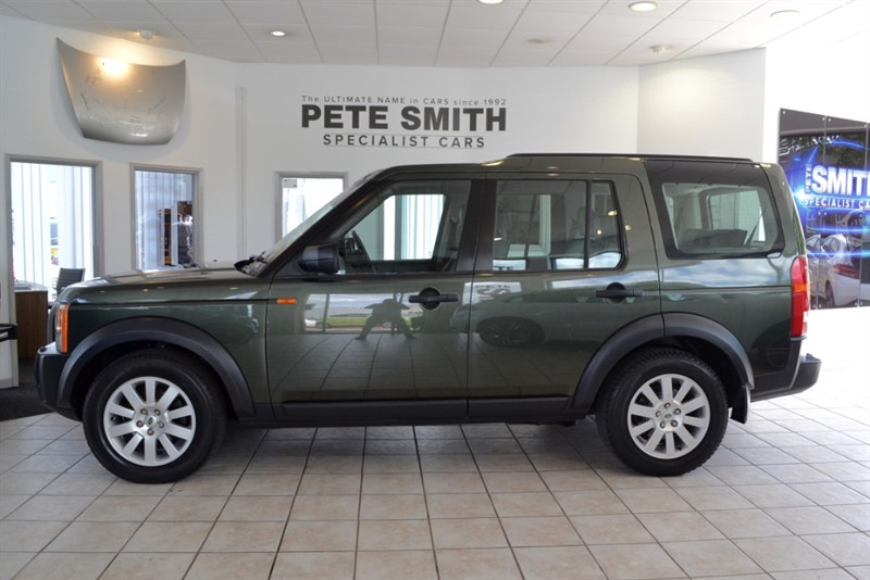 used Land Rover Discovery 2.7 TDV6 SE 7 SEATER WITH NAVIGATION 2006/56 in forest-of-dean-gloucestershire