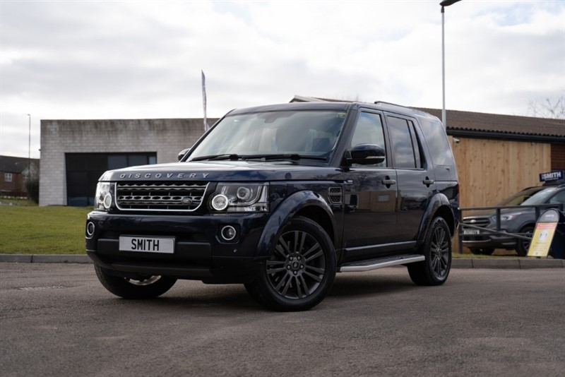 used Land Rover Discovery 3.0 SDV6 GRAPHITE AUTO JUST 33000 MILES 7 SEATS 2016/16 in forest-of-dean-gloucestershire