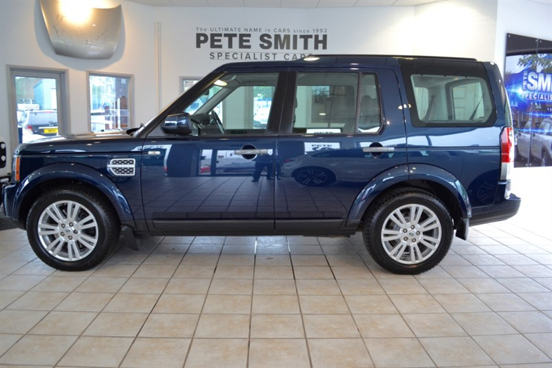 used Land Rover Discovery 3.0 SDV6 XS WITH 7 SEATS 2012/12 in forest-of-dean-gloucestershire