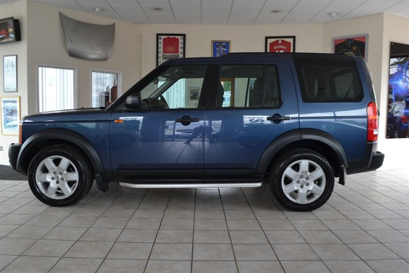 used Land Rover Discovery 3 2.7 TDV6 HSE WITH NAVIGATION & FULL SERVICE HISTORY in forest-of-dean-gloucestershire