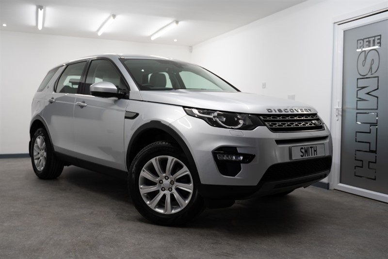 used Land Rover Discovery Sport 2.0 TD4 SE TECH 5 DOOR FULL LAND ROVER SERVICE HISTORY 7 SEATS 2016/65 in forest-of-dean-gloucestershire